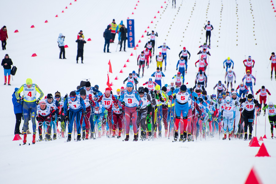 Лыжный спорт Спартакиада Общества Динамо